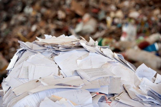 paper waste clearance