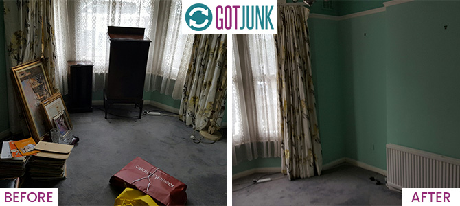 construction rubbish removal SW4 x1