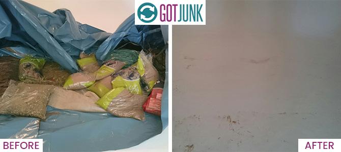 Castelnau removing rubbish SW13 x1