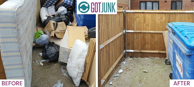 Furzedown removing rubbish SW16 x1