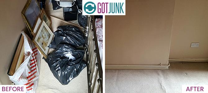 Kingston Vale removing rubbish SW15 x1