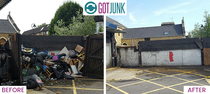 North Sheen removing rubbish TW9 x1