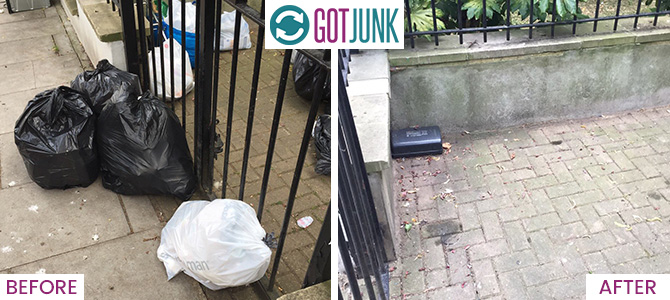 South Wimbledon removing rubbish SW19 x1