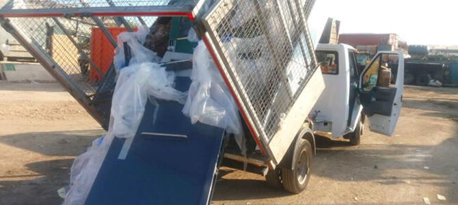 E2 building waste disposal Shoreditch x4