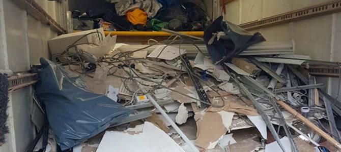 HA8 building waste disposal Edgware x4
