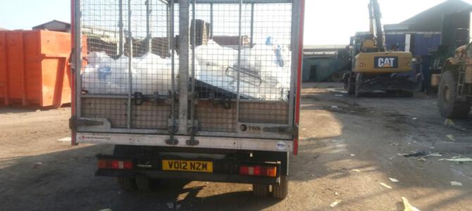 SW15 building waste disposal Putney x4