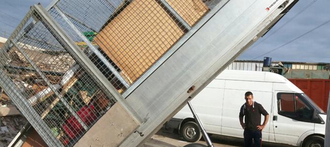 SW3 dumper truck hire Brompton x3