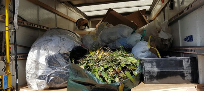 rubbish collections SW4 x2