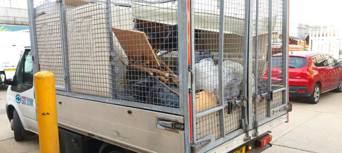 metal waste collection W6 x2