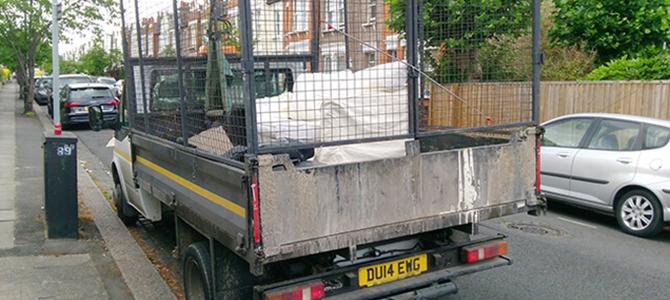 NW1 garden waste removal Camden x1