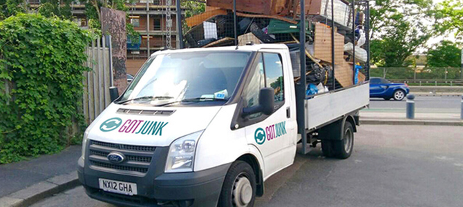 Colliers Wood permit for a skip SW19 x2