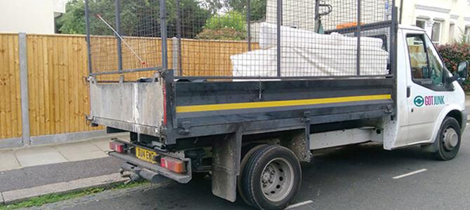 get rid of garbage near Furzedown x2