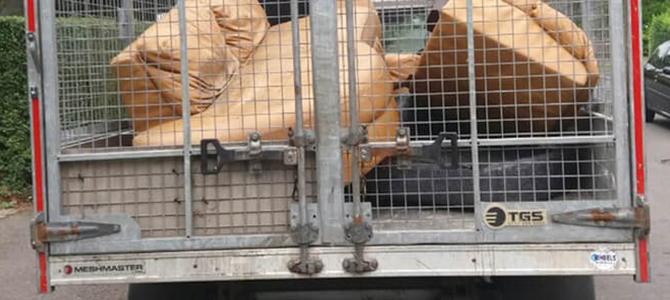 Hammersmith trash dump W12 x4
