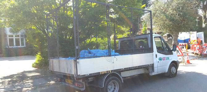 Marylebone trash dump NW1 x4