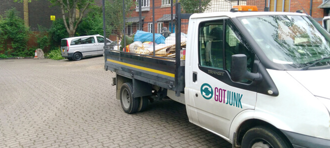 junk removal service Mill Hill x2