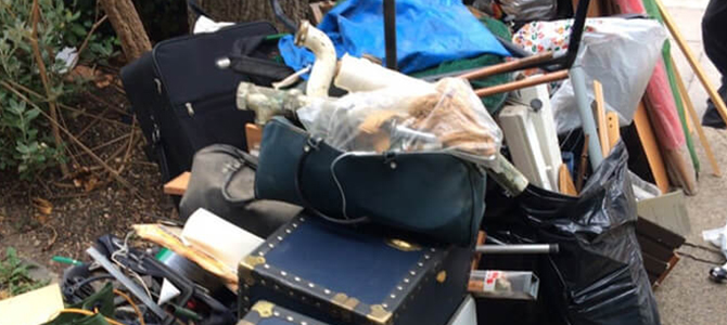 EC2 rubbish removal collection Shoreditch x1
