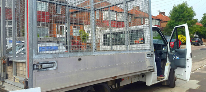 SW16 waste clearance licence Streatham x3