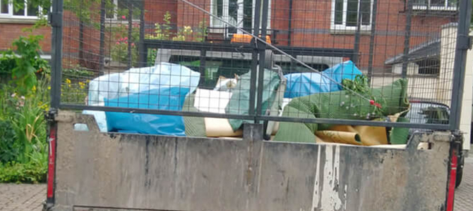 W9 waste collection Warwick Avenue x1