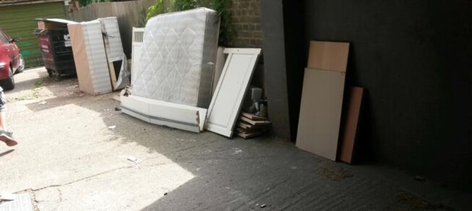 SW19 waste collection Wimbledon Park x1
