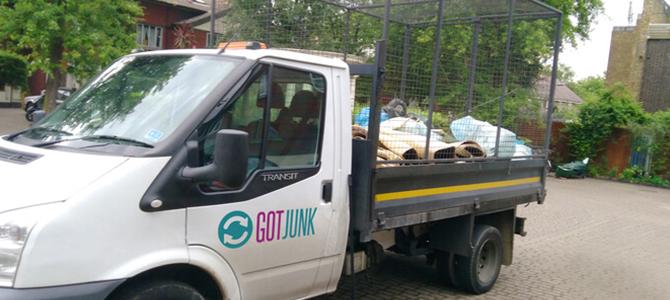 junk removal service Wimbledon Park x2